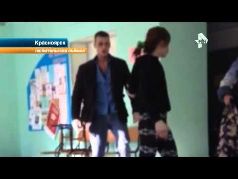 В Красноярске пьяная женщина набросилась с кулаками на физрука школы