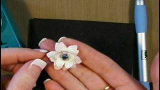 How To Make Lotus Like Paper Flower Using A Paper Punch