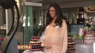 Terri Seymour serves up Sprinkles at her baby shower!