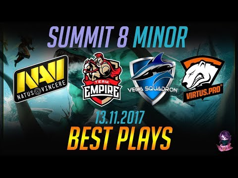 Summit 8 Minor NaVi Vega VP Empire - BEST PLAYS Highlights Dota 2 by Time 2 Dota #dota2
