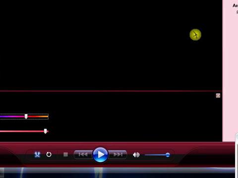 como mudar a cor do media player.FLV