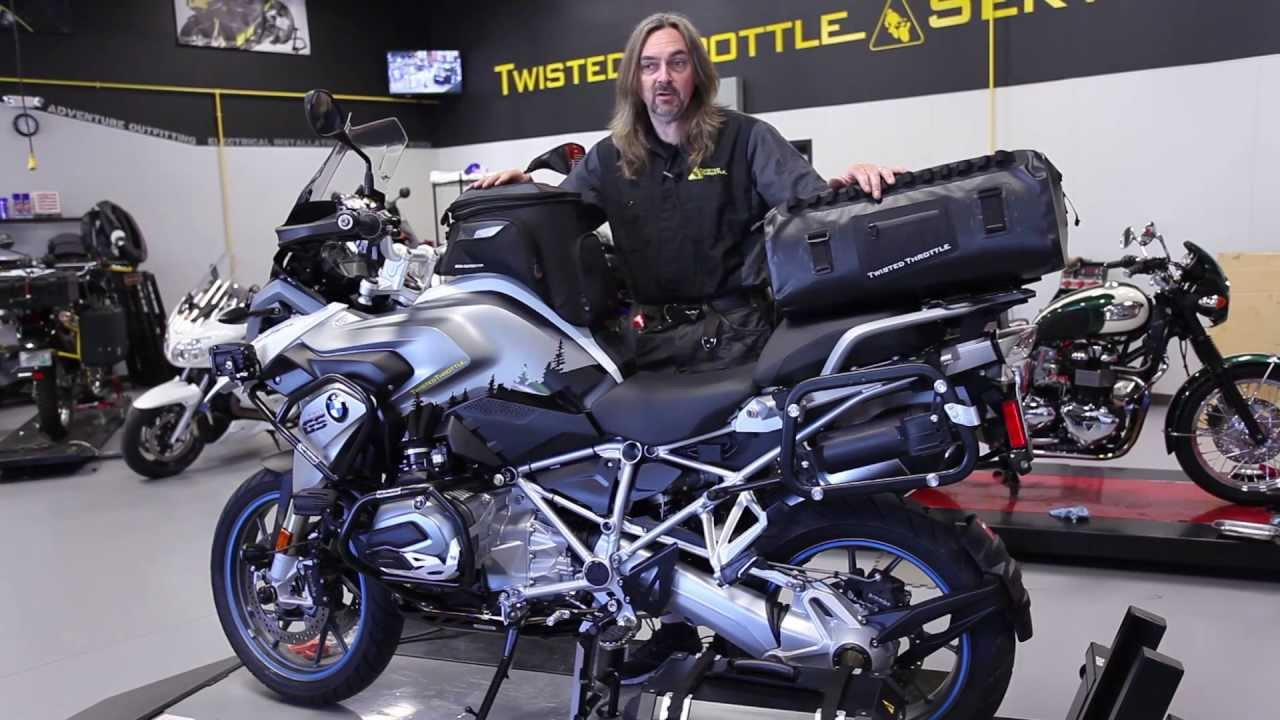 Twisted Throttle R1200GS LC Project Bike - YouTube