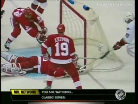 2002 Stanley Cup Finals - Red Wings @ Hurricanes Game 4 Video