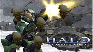 HALO COMBAT EVOLVED PLAYTHROUGH FLOOD PART 2 (continued)