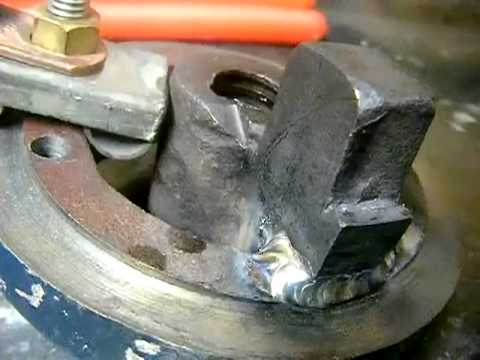 Cast Iron TIG Welding - Harbor Freight Vise Repair