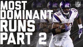 The Most Dominant Runs in NFL History Part 2! | NFL Highlights