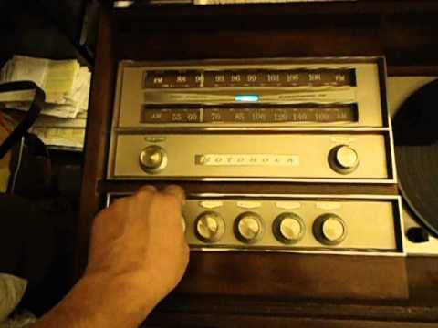 1960 Motorola Console stereo. MADE IN USA!!!