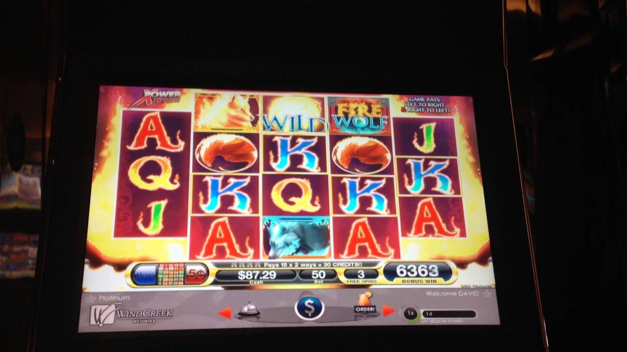 fire wolf slot machine