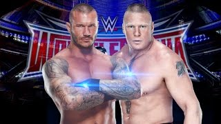 Brock Lesnar Vs. Randy Orton - WWE Wrestlemania 32 Promo