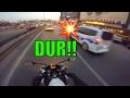 MOTOVLOG - Polis kovalaması!!