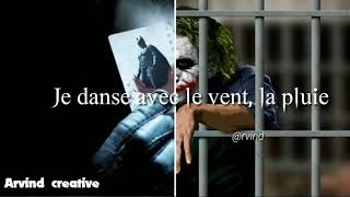 (Indila)-Dernière danse ,song lyrics ,Joker version |Whatsapp status|
