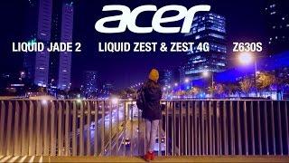 MWC 2016: Acer Jade 2, Liquid Zest & Zest 4G, Z630S
