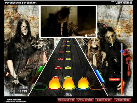 Guitar Flash Slipknot Psychosocial 100 FC Expert