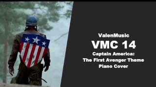 Captain America The First Avenger Theme Piano Cover - VMC 14