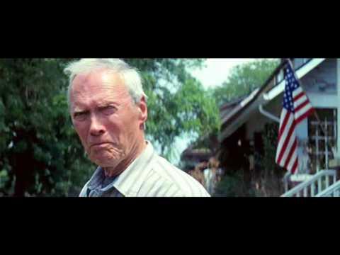 Clint Eastwood Sings Gran Torino Theme