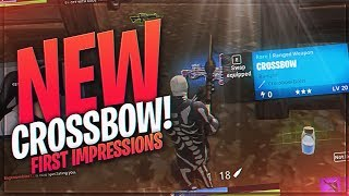 TSM Myth - THE NEW CROSSBOW.. IS IT GOOD? (Fortnite BR Full Match)