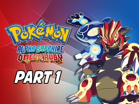 Pokemon Omega Ruby & Alpha Sapphire Walkthrough Part 1 - Return to Hoenn! (3DS Gameplay Commentary)