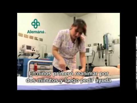 Reanimacion Cardio Pulmonar Pediatrica