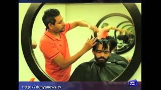 Cricketers get groomed for Eid