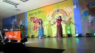 Snigdha & Sylvia: Joy Durga Thakur | Durga Puja 2014
