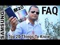 Samsung Galaxy M20 FQA In Hinid Samsung Galaxy M20 Pros And Cons In Hindi mp3