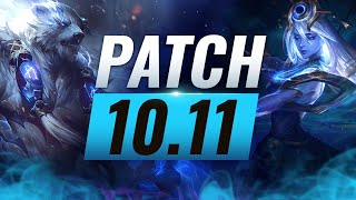 Best Champions TIER List – League of Legends Patch 10.11