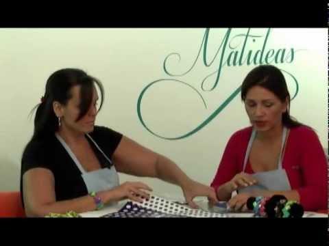 MATIDEAS - COMO HACER PULSERAS Y COLLARES Part 01