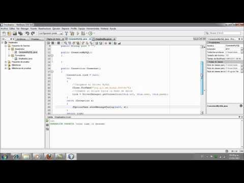 Aplicacion Java y MySQL, Netbeans - Parte3