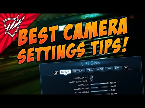 BEST CAMERA SETTINGS Rocket League Tutorial