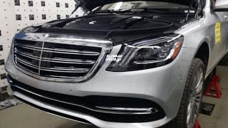 2018 Mercedes Benz S-Class leaked