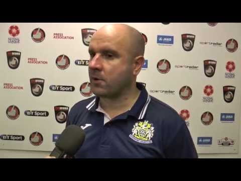 Neil Young Post-Match Interview - Boston United