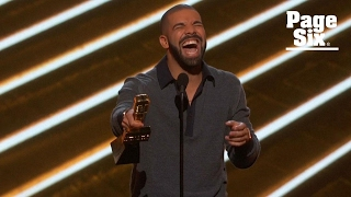 Drake thirsts for Vanessa Hudgens during Billboard Music Awards acceptance speech | Page Six