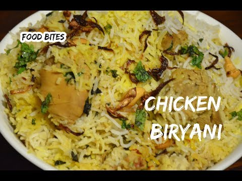 My style Chicken Biryani | Less spicy flavorful chicken Briyani | Quick & easy recipe by FOOD BITES