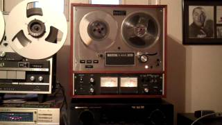 J. GEILS BAND. GIVE IT TO ME. Played on a TEAC A-4010SL Reel to Reel Tape Deck. ZCUCKOO