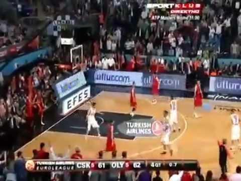 CSKA - OLYMPIAKOS 61-62 Σερβική περιγραφή! Euroleague Final 2012
