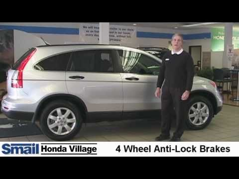 2011 Honda CR-V.  Video Review of Safety and Performance