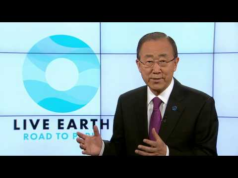 Live Earth Road to Paris - Ban Ki-moon
