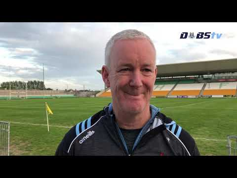 Dubs TV - Dublin Minor Football manager Jim Lehane speaks after Leinster MFC win over Offaly