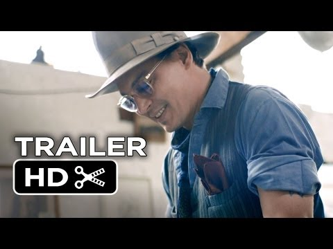 For No Good Reason Official Trailer 2 (2013) - Johnny Depp, Ralph Steadman Documentary HD