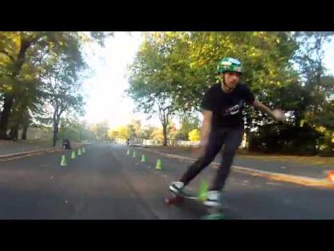 Extra Time Sky Sports - Slalom Skateboarding with Bruno Oliveira and Louis Selby