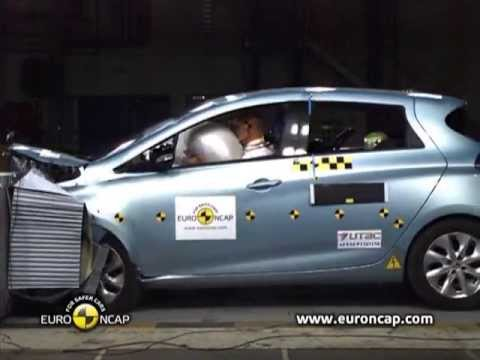 Renault Zoe NCAP crash tests