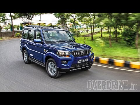 2015 Mahindra Scorpio India First Drive Review Youtube