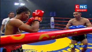 Kun Khmer, មឿន សុខហ៊ុច Vs រ៉ុងណាផា (ថៃ), Moeun Sok Huch Vs Rungnapha (Thai), CNC boxing 22/3/2019