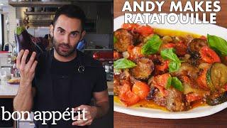 Andy Makes Classic Ratatouille | From the Test Kitchen | Bon Appétit