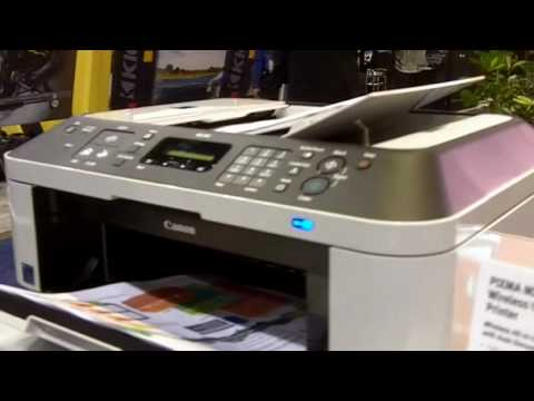CES 2010 - Hands-On with the Canon PIXMA MX340 Printer