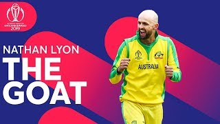 The GOAT: Nathan Lyon | Player Feature | ICC Cricket World Cup