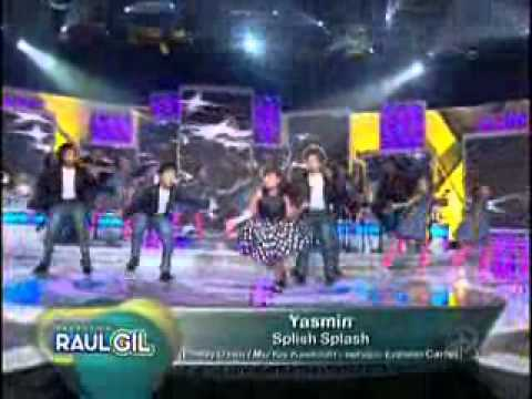 Yasmin  - Splish Splash - Programa Raul Gil