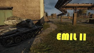 World Of Tanks PS4 - Emil II - Map Pilsen & perfect master !