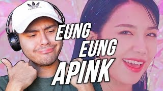 """Apink - %%(Eung Eung(응응) REACTION """"WHO IS THE BIAS!?"""""""