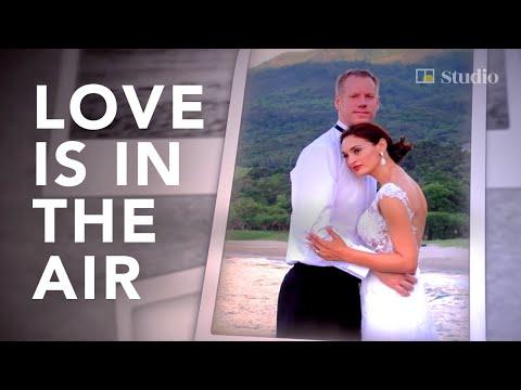 Pilot meets beauty contestant at airport and makes her Mrs Hong Kong World